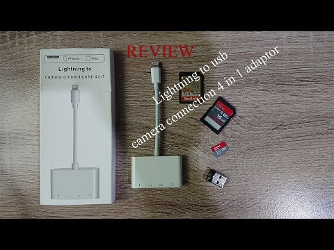 Lightning To USB Camera Adapter 4 In 1 Review