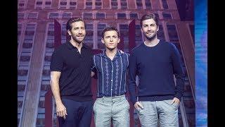 Tom Holland Jake Gyllenhaal Jon Watts At China Spider-Man:Far From Home Premiere