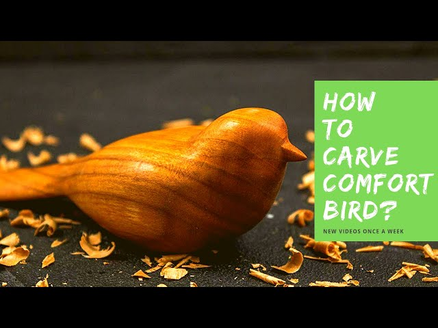 🐦 Comfort Bird Carving Tutorial Preview 🐦 (Get Whole Video After Hobby Starter Kit Purchase👇)