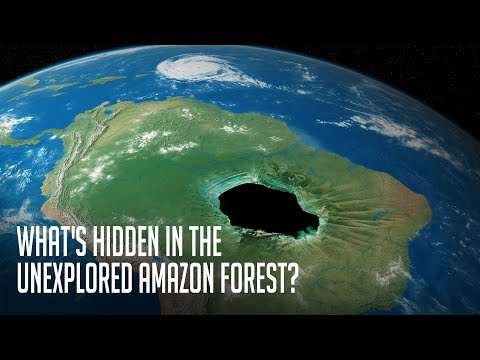 What's Hidden Behind 2,124,000 Square Miles of the Unexplored Amazon Forest?