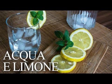 ricetta acqua e limone x dimagrire