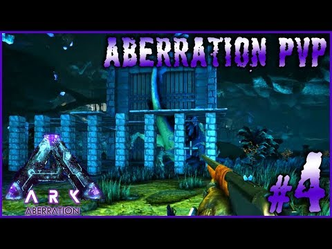 ARK ABERRATION PVP - #4 ►ROCK DRAKE EN CAGE & TAME DE SPINO [FR]