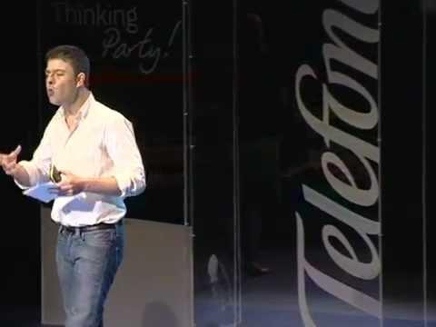 Pablo Herreros Ubalde en la Thinking Party de la Fundación Telefónica