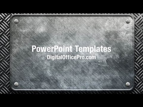Metal construction powerpoint template backgrounds metal construction powerpoint template backgrounds digitalofficepro 06842w youtube toneelgroepblik Choice Image