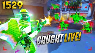 THIS streamer was caught HACKING WHILE LIVE!! | Overwatch Daily Moments Ep.1529