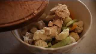 Салат з курячим філе та цвітною капустою (ТМ «Родинна ковбаска»)