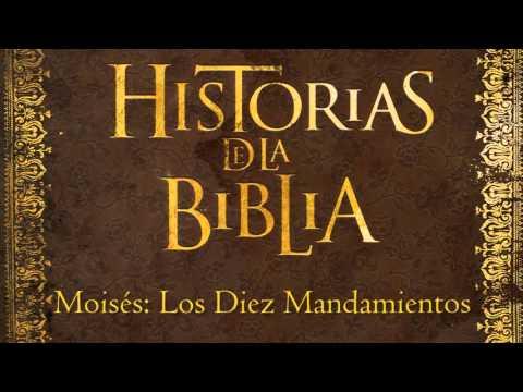 Moisés: Los Diez Mandamientos (Historias de la Biblia)