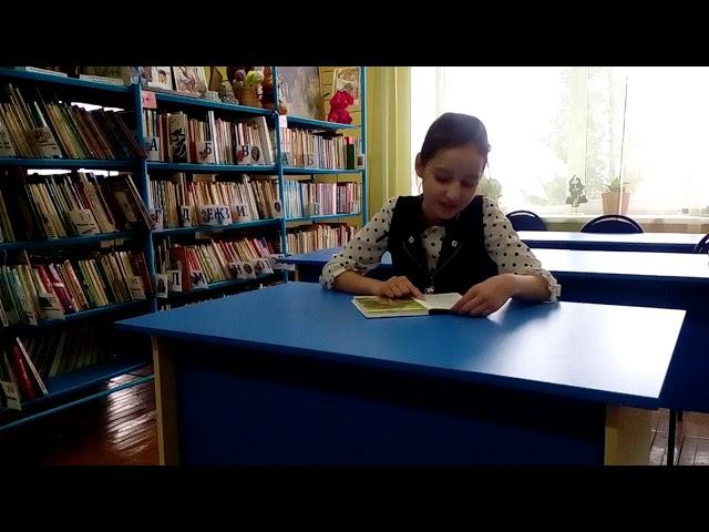 Изображение предпросмотра прочтения – ТатьянаКомарова читает отрывок изпроизведения «Бемби» Ф.Зальтена