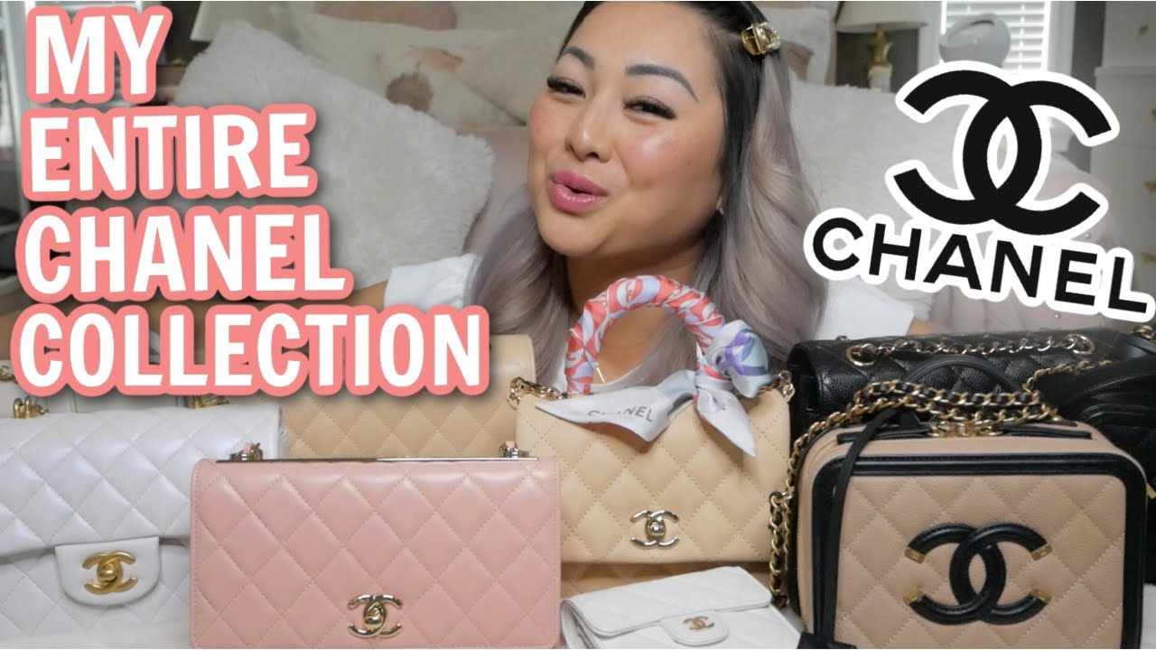 My Entire CHANEL Handbag Collection Pt.1 *Keep 3 & Sacrifice 3? My TOP 3 Handbags| JustSissi