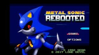 Metal Sonic Rebooted (Genesis) - Longplay