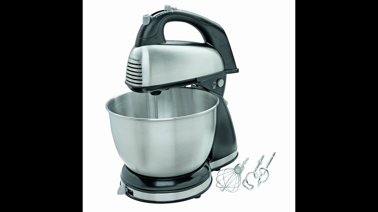Review: Hamilton Beach 64650 6-Speed Classic Stand Mixer, Stainless ...