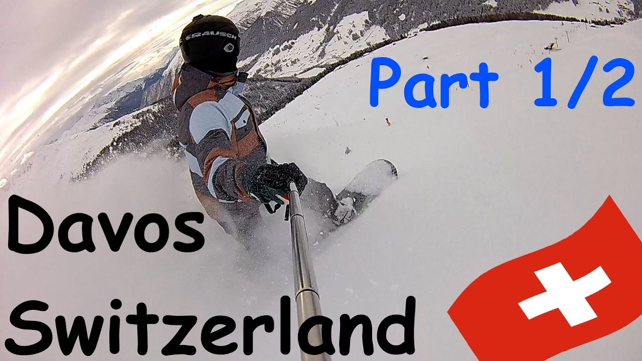 Davos schweiz 2016 snowboardurlaub[60fps][full hd]