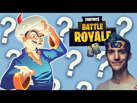 CAN AKINATOR GUESS THESE FORTNITE PROSSTREAMERS?