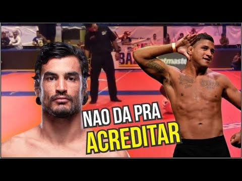KRON GRACIE LEVOU AMASSO DE CAMPEAO DO UFC MAS FEZ ALGO ABSURDO A CALOU A BOCA DE TODOS