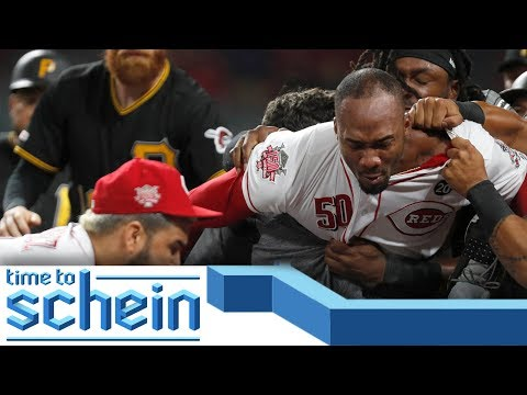 Suspension Worthy Reds-Pirates Brawl and 2019 MLB Trade Deadline Mistakes   Time to Schein