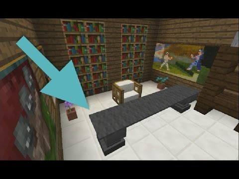 Comment faire un bureau moderne minecraft youtube for Bureau youtube