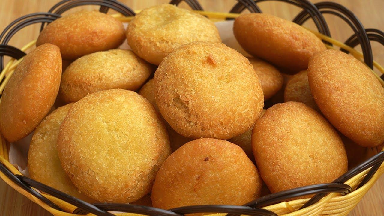教你脆皮油炸糕做法,和麵配料詳細講解,外酥裡軟,有脆皮才好吃Fried Cake【娟子美食】