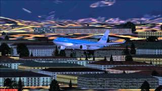 FSX: KLM Airbus A330-300 @ Rio de Janeiro-Galeão International Airport