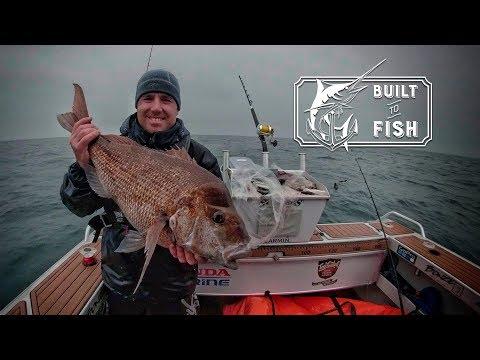 Built To Fish Season 2 Episode 2 -  Whakatane Stray-lining For BIG Snapper