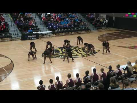 "Irondale JV Jazz ""Womanizer"" @ Fridley 12/10/16"