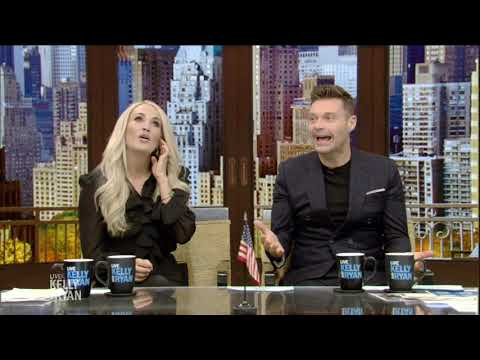 Ken Andrews - Carrie guest-hosted Live with Kelly & Ryan
