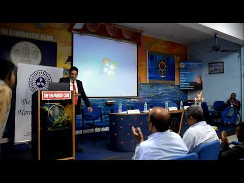 """World Maritime Day'17-Sanjeev Vakil, HIMT speaks on the theme """"Connecting Ships, Ports and People"""""""
