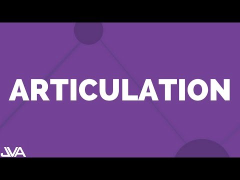 Articulation Vocal Exercise (on