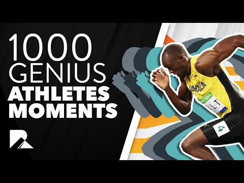 1000 iq Genius Athletes Moments || The Greatest Sports Moments