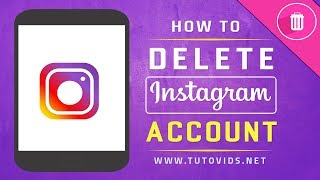 How To Delete Instagram Account [2018]