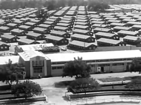 Friendly Concentration of USA citizens in Camps: Official News 1942 - 1945