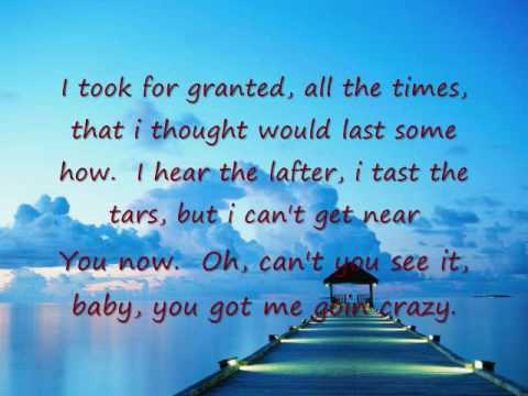 Bryan Adams - I will be right here waiting for you Lyrics