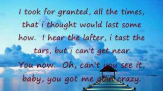 English Sad Song.(With Lyrics).Right Here Waiting For You