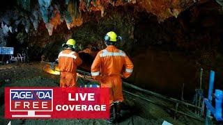 Thailand Cave Rescue - LIVE COVERAGE 7/10/18