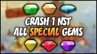 crash bandicoot colored gem guide