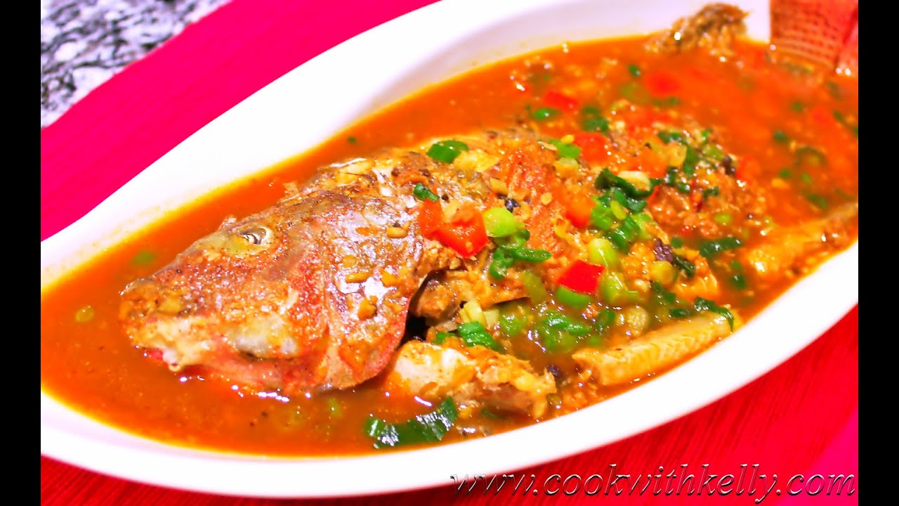 Braised fish in bean saucechinese versionauthentic braised fish in bean saucechinese versionauthentic chinese food cooking and recipes forumfinder Image collections