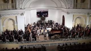 M.Ravel - Piano concerto no 2 ( for the left hand)  Tutu Aydınoğlu(piano) cond.-Y.Adigezalov