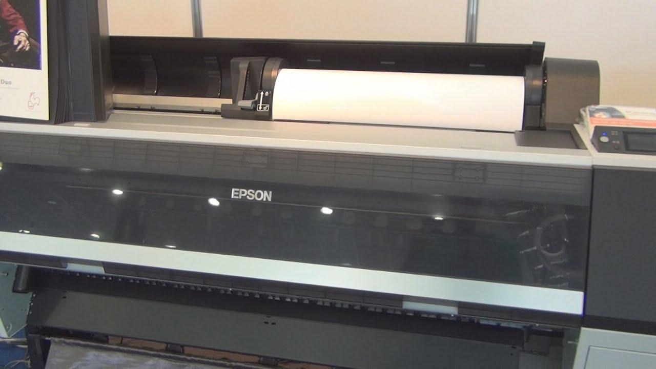 Epson SureColor P9000 printer review in 3D