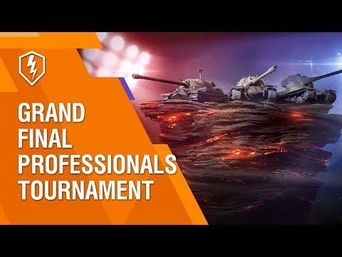 WoT Blitz. Professionals Tournament. Day 3. Grand Final
