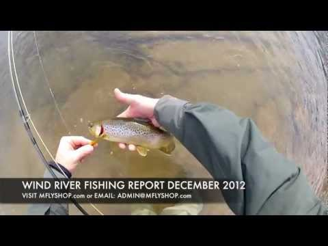 Winter Fly Fishing | Dubois Wyoming Fishing Report | Wind River Dec 2012