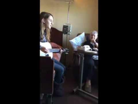 "Elizabeth Plays ""Untouchable"" For Her Yia Yia"