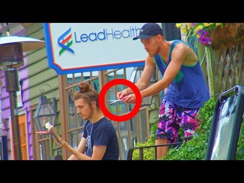 Cutting Peoples Headphones Prank Part 2