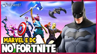 FORTNITE: TODOS OS CROSSOVERS COM SUPER-HERÓIS