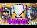 Clash Royale Oyniyoruz - 4000 Kupaya Yolculuk