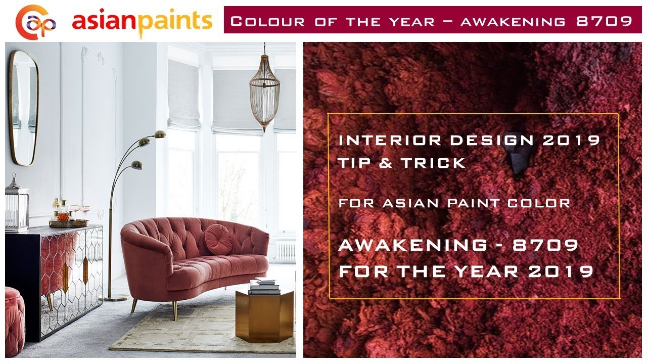 Asian Paint color 2019 # Latest Interior Trend / पेंट कलर फॉर इंटीरियर