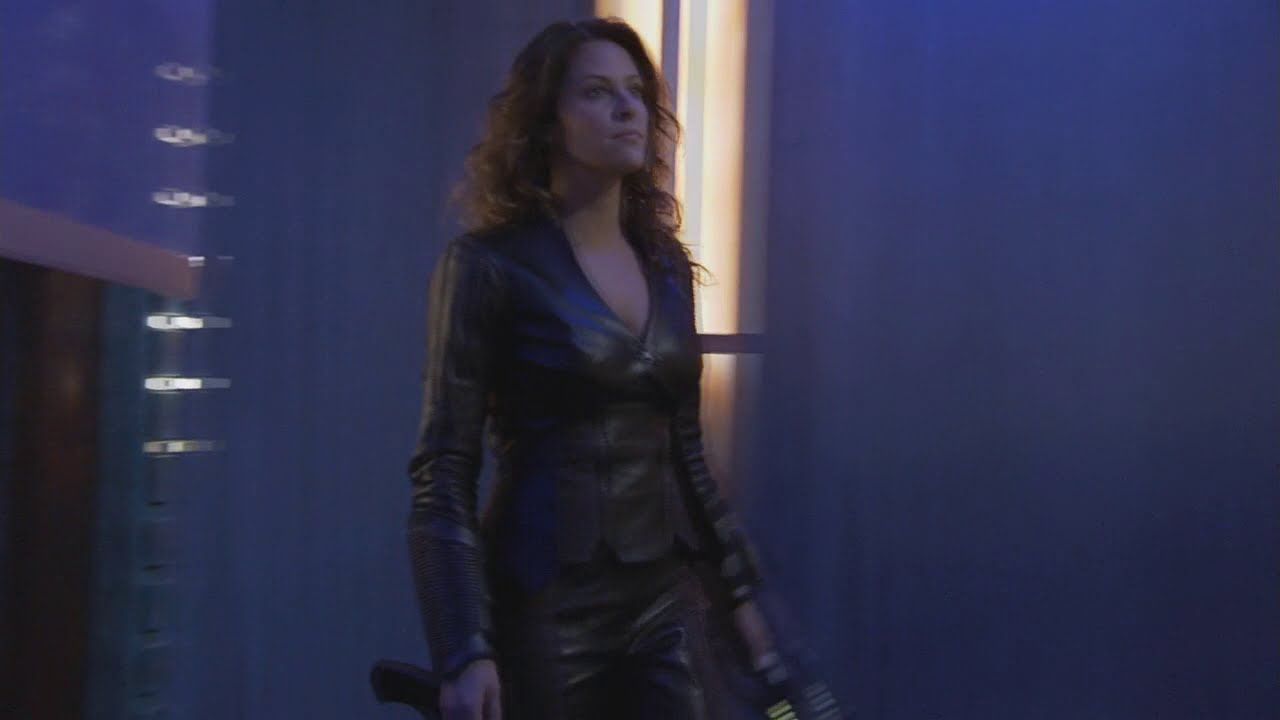 Jill Wagner Leather Outfit Youtube