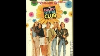 Opening To The Baby-Sitters Club:The Movie 1995 VHS