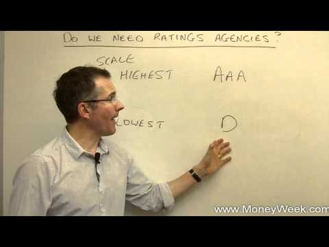 Do we need rating agencies? - MoneyWeek Investment Tutorials