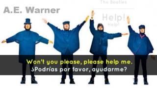 The Beatles-Help! [Help!] Subtitulado en Español e Ingles