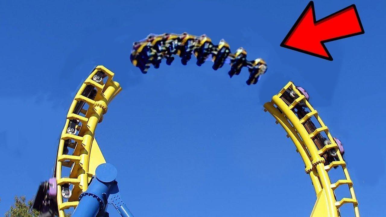 8 सबसे विचित्र और खतरनाक झूले   8 Most Insane Amusement ...