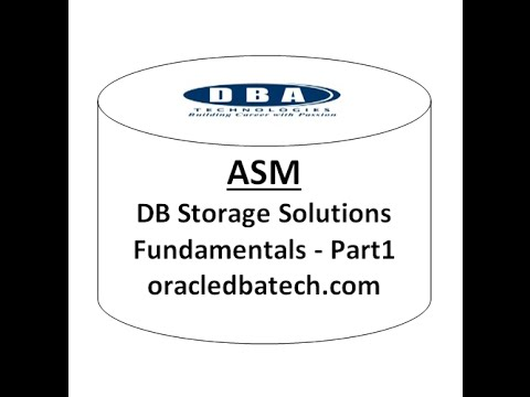 Oracle ASM  - Part 1
